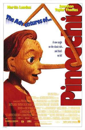 The Adventures of Pinocchio - Movie Poster (thumbnail)