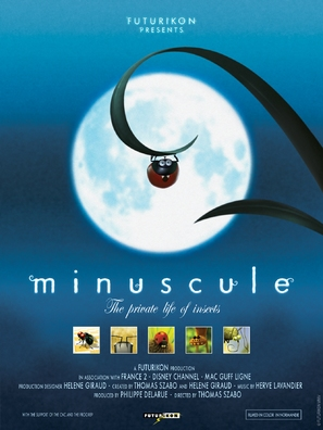 """""""Minuscule"""" - French Movie Poster (thumbnail)"""