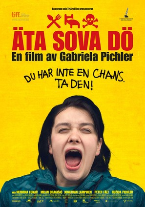Äta sova dö - Swedish Movie Poster (thumbnail)