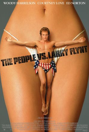 The People Vs Larry Flynt - Movie Poster (thumbnail)