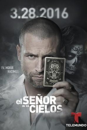 """""""El Señor de los Cielos"""" - Spanish Movie Poster (thumbnail)"""