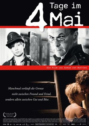 4 Tage im Mai - German Movie Poster (thumbnail)