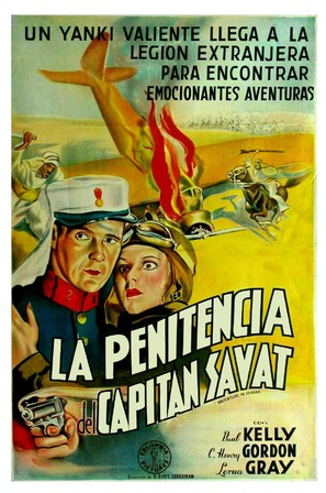 Adventure in Sahara - Argentinian Movie Poster (thumbnail)