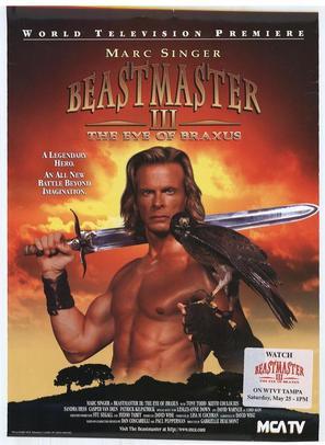 Beastmaster: The Eye of Braxus - Movie Poster (thumbnail)