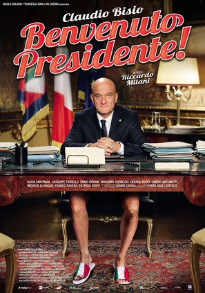 Benvenuto Presidente! - Italian Movie Poster (thumbnail)