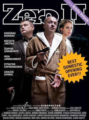 Zero 2 - Lithuanian Movie Poster (thumbnail)