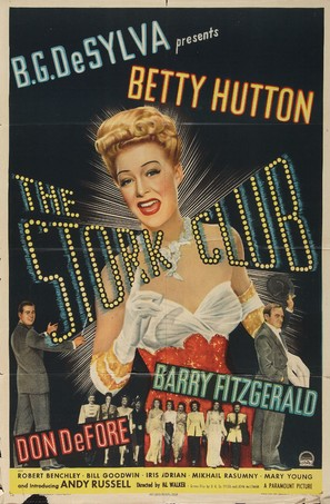 The Stork Club - Movie Poster (thumbnail)