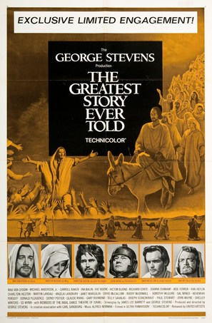 The Greatest Story Ever Told - Movie Poster (thumbnail)