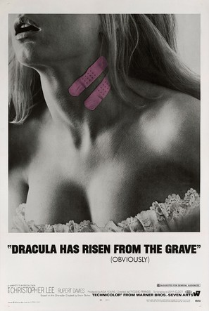 Dracula Has Risen from the Grave - Movie Poster (thumbnail)