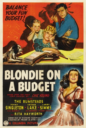 Blondie on a Budget - Movie Poster (thumbnail)
