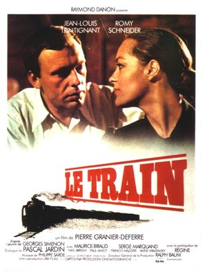 Train, Le - French Movie Poster (thumbnail)