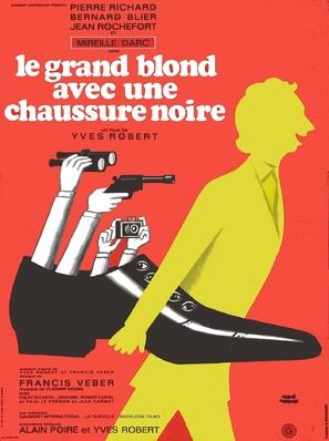 Le grand blond avec une chaussure noire - French Movie Poster (thumbnail)