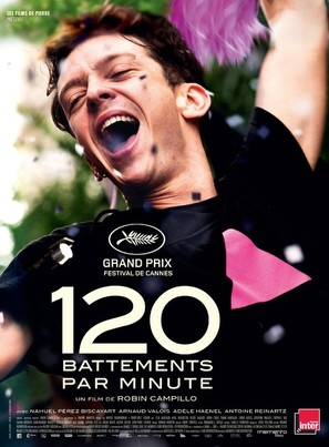 120 battements par minute - French Movie Poster (thumbnail)
