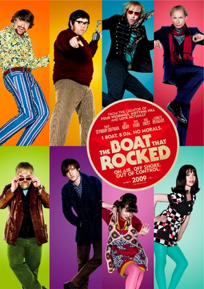 The Boat That Rocked - British Movie Poster (thumbnail)