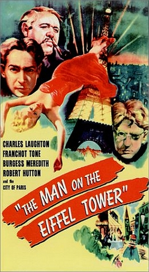 The Man on the Eiffel Tower - Movie Poster (thumbnail)