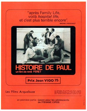 Histoire de Paul - French Movie Poster (thumbnail)