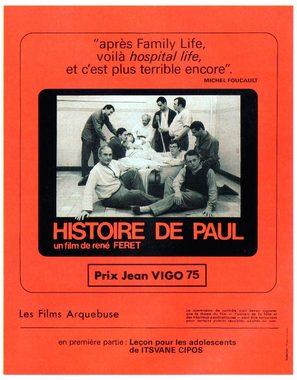 Histoire de Paul - French Movie Poster (thumbnail)