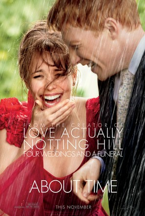 About Time - Theatrical movie poster (thumbnail)