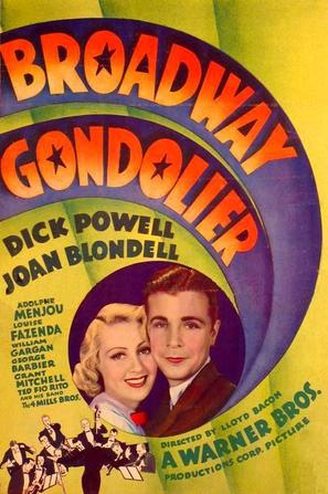 Broadway Gondolier - Movie Poster (thumbnail)