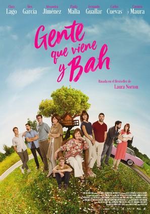 Gente que viene y bah - Spanish Movie Poster (thumbnail)