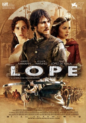 Lope - Spanish Movie Poster (thumbnail)