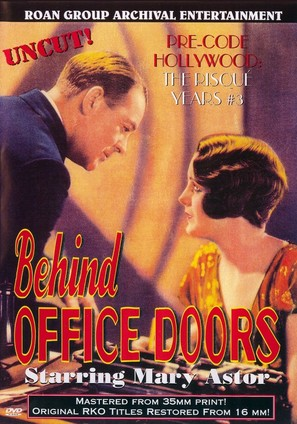 Behind Office Doors - DVD cover (thumbnail)