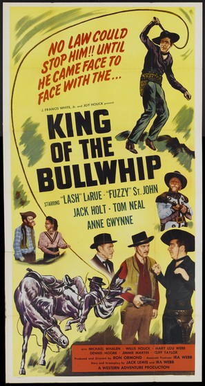 King of the Bullwhip - Movie Poster (thumbnail)