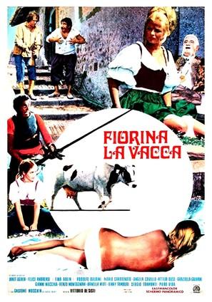 Fiorina la vacca - Italian Movie Poster (thumbnail)