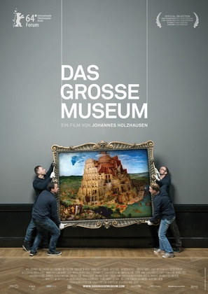 Das große Museum - German Movie Poster (thumbnail)