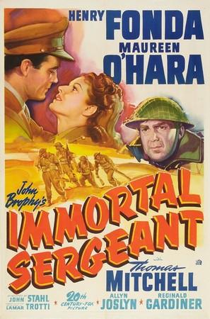 Immortal Sergeant - Movie Poster (thumbnail)