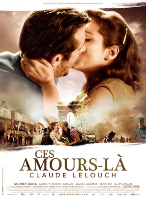 Ces amours-là - French Movie Poster (thumbnail)