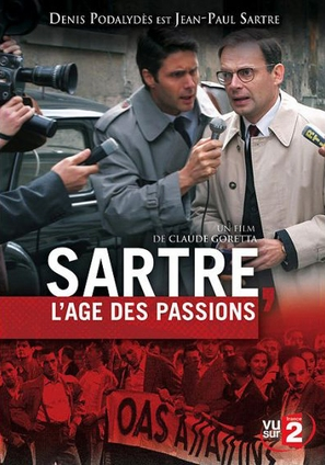 Sartre, l'âge des passions - French Movie Cover (thumbnail)