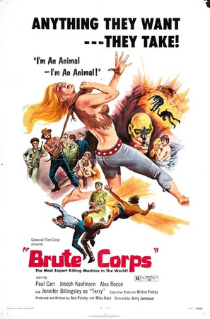Brute Corps - Movie Poster (thumbnail)