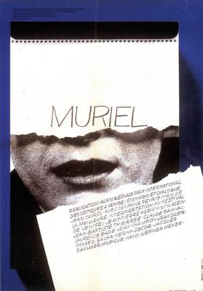 Muriel ou Le temps d'un retour - French Movie Poster (thumbnail)