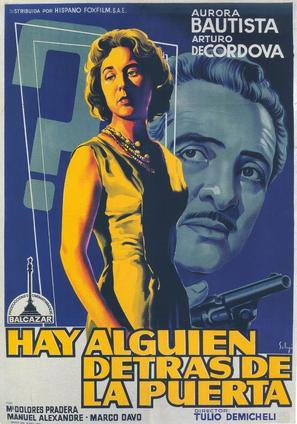 Hay alguien detrás de la puerta - Spanish Movie Poster (thumbnail)