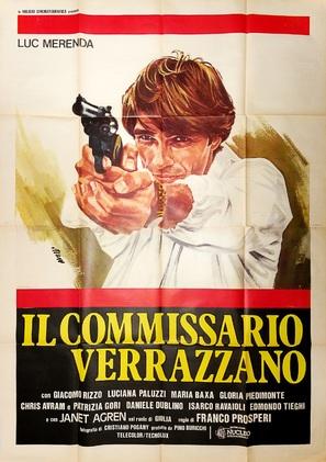 Il commissario Verrazzano - Italian Movie Poster (thumbnail)