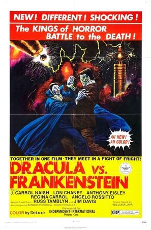 Dracula Vs. Frankenstein - Movie Poster (thumbnail)