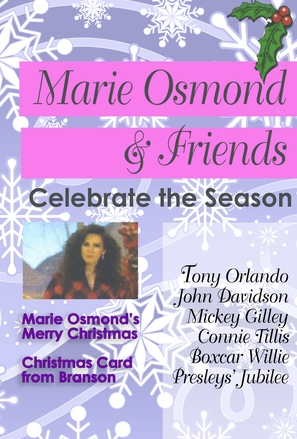 Marie Osmond's Merry Christmas - DVD cover (thumbnail)