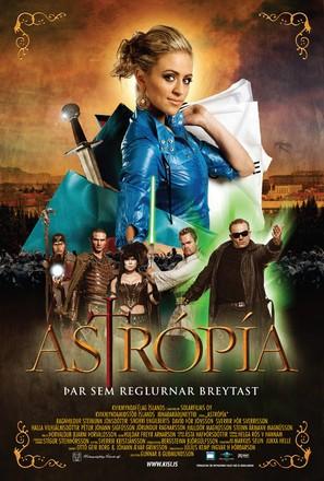 Astrópía - Icelandic Movie Poster (thumbnail)