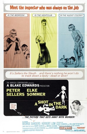 A Shot in the Dark - Movie Poster (thumbnail)