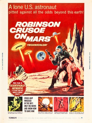 Robinson Crusoe on Mars - Movie Poster (thumbnail)