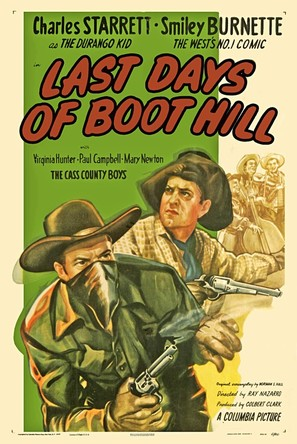 Last Days of Boot Hill - Movie Poster (thumbnail)