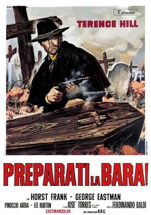 Preparati la bara! - Italian Movie Poster (thumbnail)