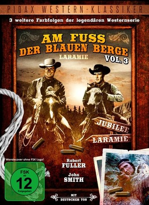 """Laramie"" - German DVD cover (thumbnail)"