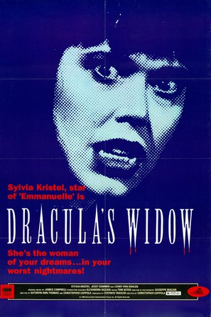 Dracula's Widow - Movie Poster (thumbnail)