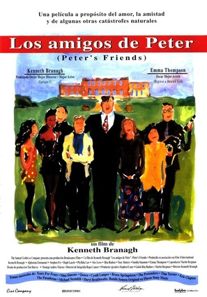 Peter's Friends - Spanish Movie Poster (thumbnail)