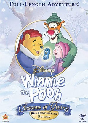Winnie the Pooh: Seasons of Giving - DVD movie cover (thumbnail)