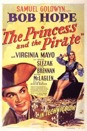 The Princess and the Pirate - Movie Poster (thumbnail)