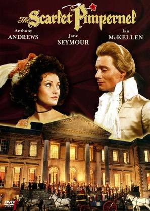 The Scarlet Pimpernel - DVD cover (thumbnail)