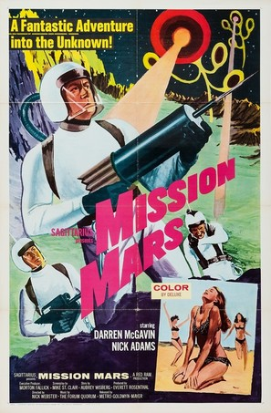 Mission Mars - Movie Poster (thumbnail)